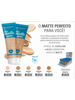 BASE LIQUIDA BROADWAY DEU MATTE DISPLAY BRBXSET01