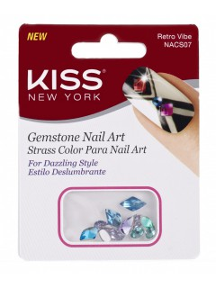 Nail Art Gemstones Retro Vibe NACS07